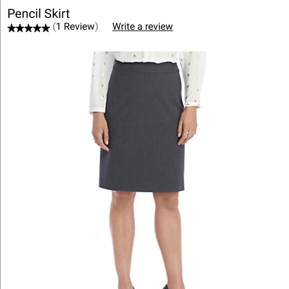 The Limited Dresses & Skirts - The Limited Stretch Gray Womens Career Skirt sz 14